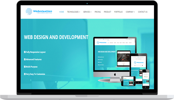 website and web develop